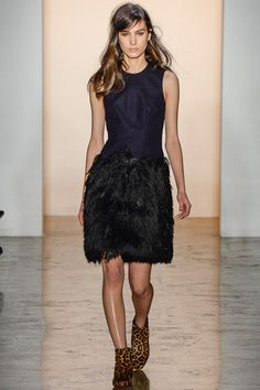 Peter Som Fall 2014 Ready-to-Wear Fashion Show