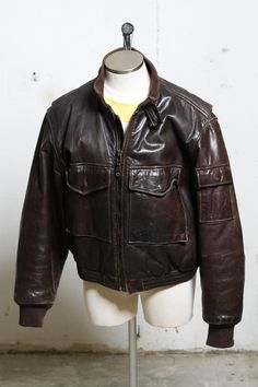 92d14369d 11 Best Vintage Leather Jackets images in 2018 | Clothes, Clothing ...