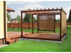 Planter Beds, Planters, Sloped Backyard, Outside Room, Small Terrace, Back Gardens, Outdoor Pool, Pergola, New Homes