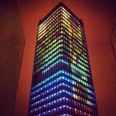 City lights at Tour Montparnasse :)
