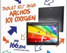 "#Tablet 10.1"" Archos 101 Oxygen 16GB. http://www.opirata.com/es/tablet-archos-oxygen-16gb-p-30461.html"