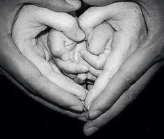 وهل الأسرة إلا راحة تدفئ برد راحتيك ؟ Spoke Art, Holding Hands