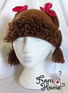 Cabbage Patch Hat Tutorial