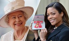Naomie commented on the youthfulness of the Queen.