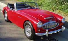 1964 Austin Healey 3000 Mk III BJ8 - an exact copy of the car sitting in our garage in Springfield, MA.
