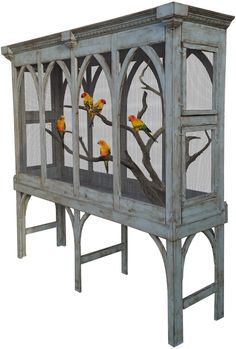 Trendy repurposed bird cage ideas unique 15 ideas, The bird cage is equally a home for the birds and an ornamental tool. You can choose what you may want among the bird cage types and get a great deal more particular images. Diy Bird Cage, Bird Cages, Canary Birds, Wood Company, Bird Aviary, Brown Dog, Quality Furniture, Beautiful Birds, Beautiful Pictures