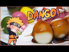 ℗ Naruto Dango (Dulce Japonés) | SuperPilopi - YouTube Japanese Dishes, Japanese Food, Susanoo Naruto, Japanese Appetizers, Tiny Food, My Best Recipe, I Am Awesome, Good Food, Food And Drink