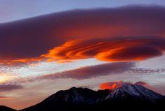 Mount St. Helen's sunrise