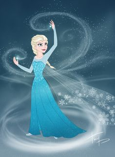 Fan Art of Elsa for fans of Frozen. Frozen (2013)