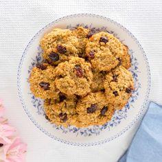 Simples y sabrosas galletas de Zanahoria y Avena para hacer en casa, sin azucares refinados y que no podrás parar de comer.