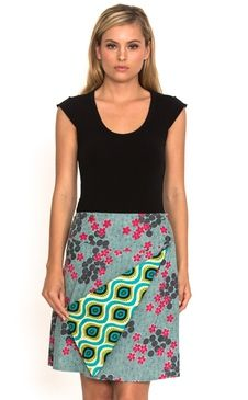 We're offering you the perfect summer collection of women's cotton fashion Buy Skirts Online, Chameleon, Summer Collection, Spiral, Vibrant, Grey, Prints, Cotton, Stuff To Buy