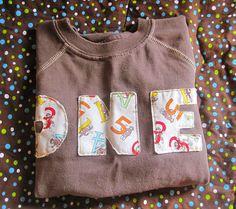 applique t-shirt ideas for eli