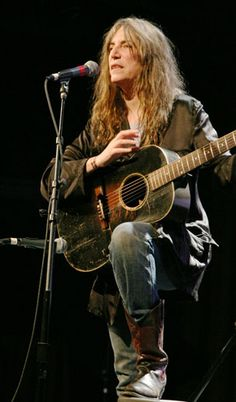 Patti Smith.  Saw her at State theater.
