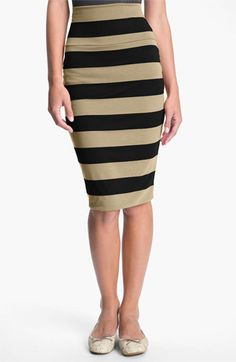 Lily White Mid-Length Pencil Skirt (Juniors) | Nordstrom