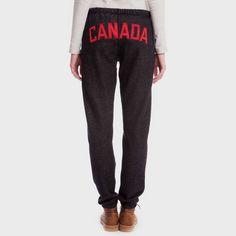 Canada Slim Fit Sweatpant   Women's Bottoms Sweatpants   Roots Four Seasons Clothing, Roots Clothing, Classic Style, My Style, Women's Bottoms, Workout Wear, My Beauty, Yoga Pants