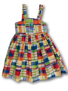 This adorable dress can survive your toughest toddler and still be cute enough for that next little girl or be saved to pass on.  https://www.kellyskids.com/IndvItem.asp?InventoryID=283    Item Name: Vintage Cross Back Dress       Item #: S12-04D       Base Price: $39.00         Description:   cross back, back button closure,   cotton/poly poplin