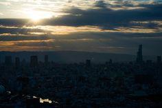 Abeno Harukas (あべのハルカス). / Architect : Takenaka Corporation, César Pelli (設計:竹中工務店・シーザー・ペリ).