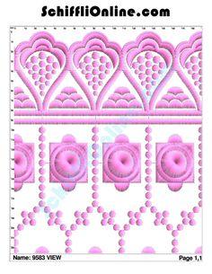 Buy Schiffli Embroidery Bundle,Book 103 - ALLOVER 8/4 Online at Best Price | SchiffliOnline.com
