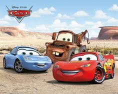 Disney Cars Best Friends - Mini Poster