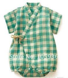Free Shipping Children baby cotton kimono romper 8pcs/lot 2 color US $78.00