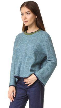 3.1 Phillip Lim Long Sleeve Crew Neck Sweater