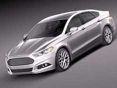 2013 Silver Ford Fusion