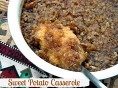 Mommy's Kitchen - Country Cooking & Family Friendly Recipes: Sweet Potato Casserole