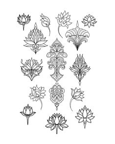 depending on design, size and placement. DM or email for b… Lotus flash. depending on design, size and placement. DM or email for bookings Sydenham Ink Dotwork Tattoo Mandala, Lotus Tattoo, Mehndi, Small Flower Tattoos, Small Tattoos, Henna Designs, Tattoo Designs, Art Deco Tattoo, Vogel Tattoo