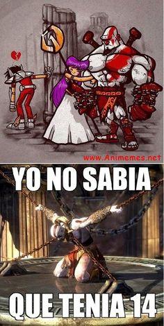 Saori y Kratos Kalimba, Ten, Samurai, Humor, Comics, Anime, Saint Seiya, Geek, Humour