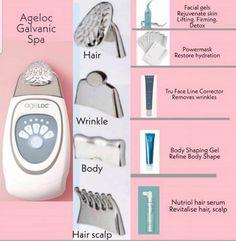 Galvanic Body Spa, Ageloc Galvanic Spa, Nu Skin Ageloc, Skin Care Routine Steps, Skin Routine, Anti Aging, Happy Skin, Skin Care Tools, Healthy Skin Care