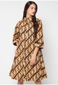 Dress Sogan Tunik from Griya Batik MAS 840e3541a4