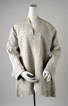 Dressing jacket, ca. 1735; MMA 1988.197
