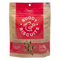 Cloud Star Soft & Chewy Buddy Biscuits Dog Treats, Grilled Beef , 6-Ounce Pouches (Pack of 4) - http://www.thepuppy.org/cloud-star-soft-chewy-buddy-biscuits-dog-treats-grilled-beef-6-ounce-pouches-pack-of-4/