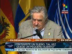 Nada vale más que una vida, luchen por la felicidad: Mujica