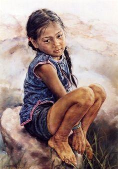 Barry Yang. Artista chino