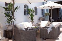Hagemøbel - Outdoor furniture from Artwood. San Diego sofa, stoler og bord kan bestilles hos oss: www.krogh-design.no/hage/