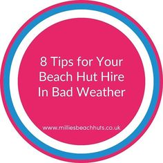 It might not be sunny but you can have a great day out. Here's my 8 top tips for beach hut hire in bad weather. Link in bio. Great Days Out, Have A Great Day, Evergreen Trees, Gift Vouchers, Special Gifts, Beach Huts, Weather, Sayings, 12 Months