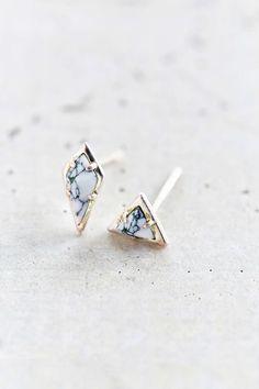 Earrings. Chic. Stones.
