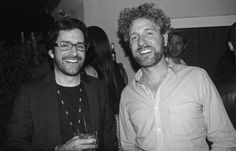 AFI FEST juror Ryan Silbert (L) and actor Jeff Grace (IT'S A DISASTER) at the Filmmaker party