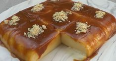 Greek Sweets, Cold Desserts, Deserts, Food And Drink, Pudding, Cooking, Recipes, Kitchen, Custard Pudding