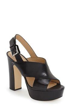 MICHAEL Michael Kors 'Marina' Slingback Platform Sandal (Women)