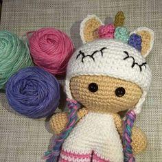 """5 Me gusta, 1 comentarios - @gabbaandme en Instagram: """"#misgordis #unicornio #hechoamano #hechoconamor #crochetlover #amotejer"""""""
