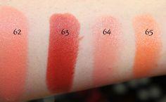 #mac #lipstick #swatch #swatches