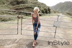 Go Joon Hee - InStyle Magazine June Issue '15