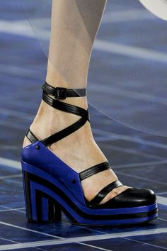 #Chanel Spring 2013 #Shoes #Details
