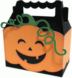 Use Cricut - CTMH boxes from Artiste and pumpkin from Artbooking - pumpkin box by Nilmara Quintela