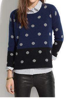 Dot sweater