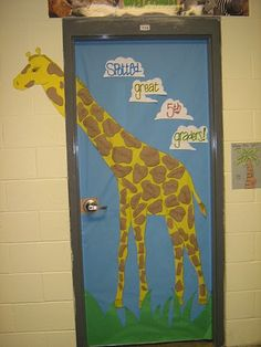 Another Jungle door idea   # Pin++ for Pinterest #