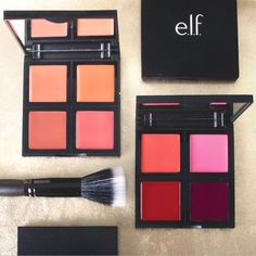 Cream Blush Palette Get first access to our NEW Cream Blush Palette – exclusively avail at elf Cute Makeup Hacks, Makeup Tips, Beauty Makeup, Blush Makeup, Elf Makeup, Love Makeup, Normal Makeup, Makeup Must Haves, Cream Blush