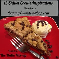 Baking Outside the Box: Skillet Cookies. Easy Gooey Goodness.